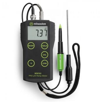 medidor de PH y temperatura...
